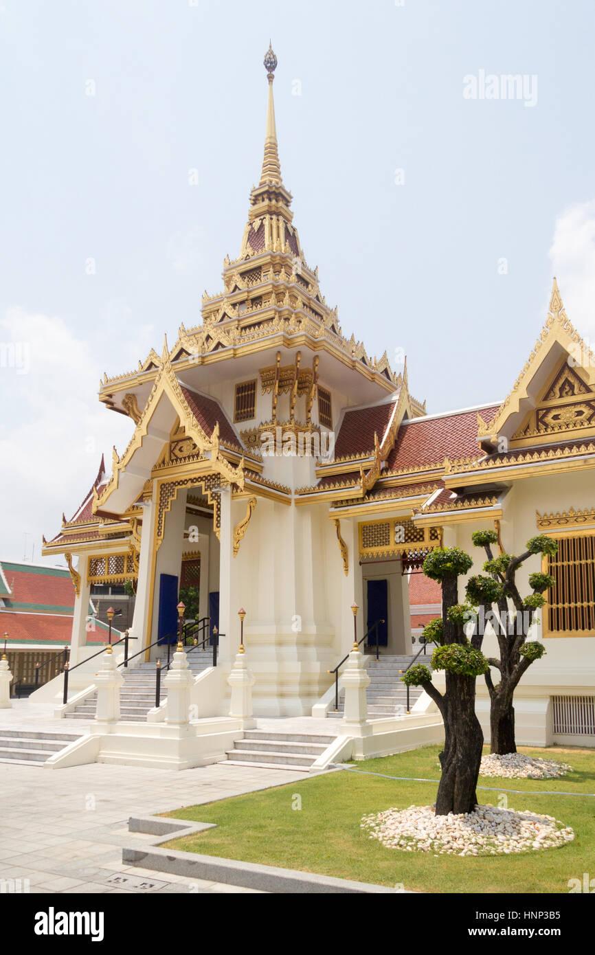 Wat Thep Sirin Thrawat, Bangkok, Thailand - Stock Image