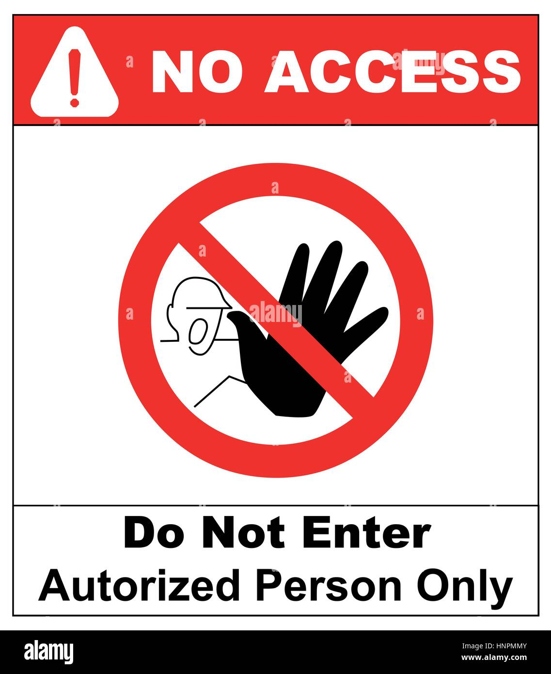 Vector Circle Prohibited Symbol Restricted Area For Member Only Or