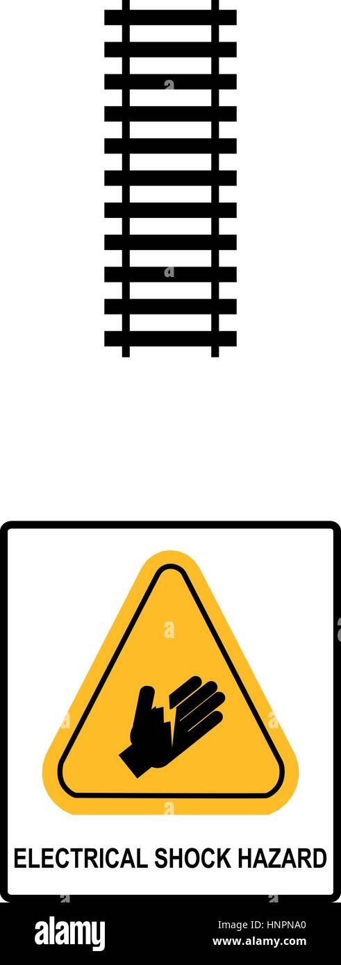 Electrical Shock Hazard Symbol Vector Stock Photos Electrical