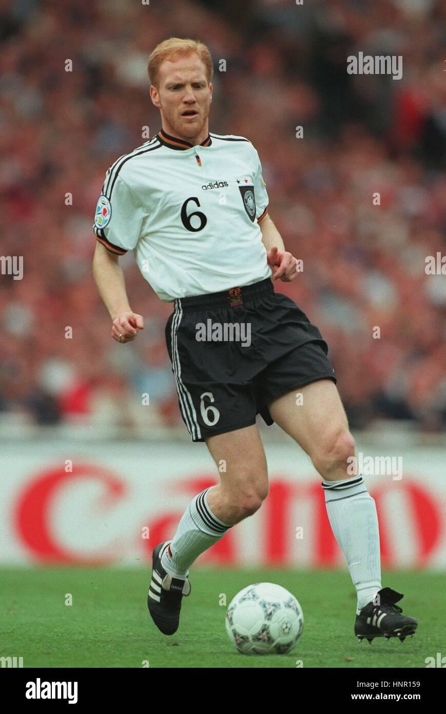 MATTHIAS SAMMER GERMANY & BORUSSIA DORTMUND FC 26 June 1996 Stock Photo: 133886181 - Alamy