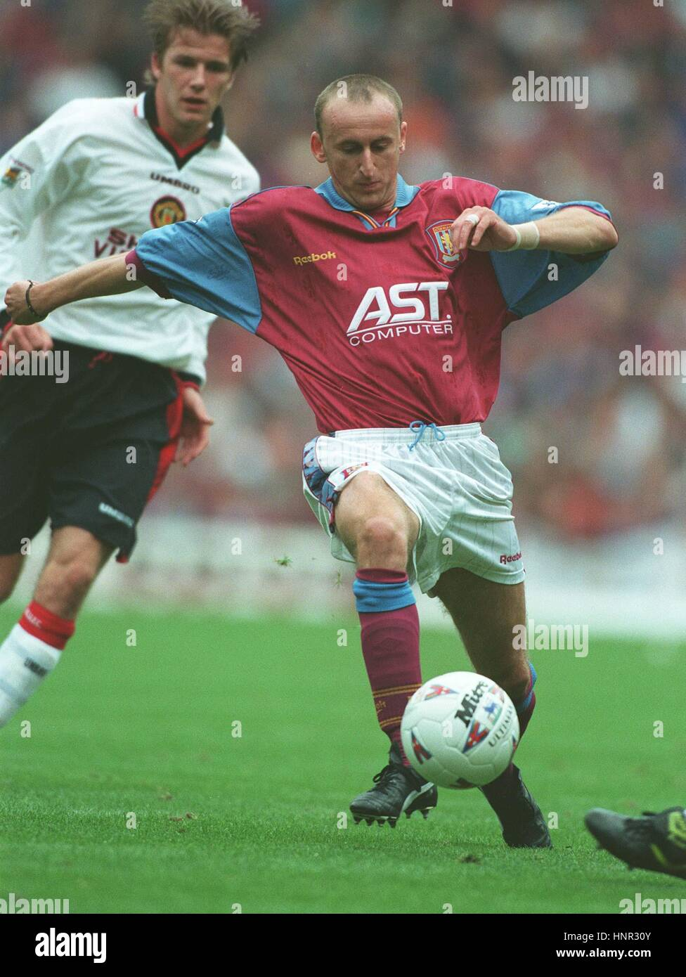 Sasa Curcic Aston Villa Fc 15 October 1996 Stock Photo Alamy
