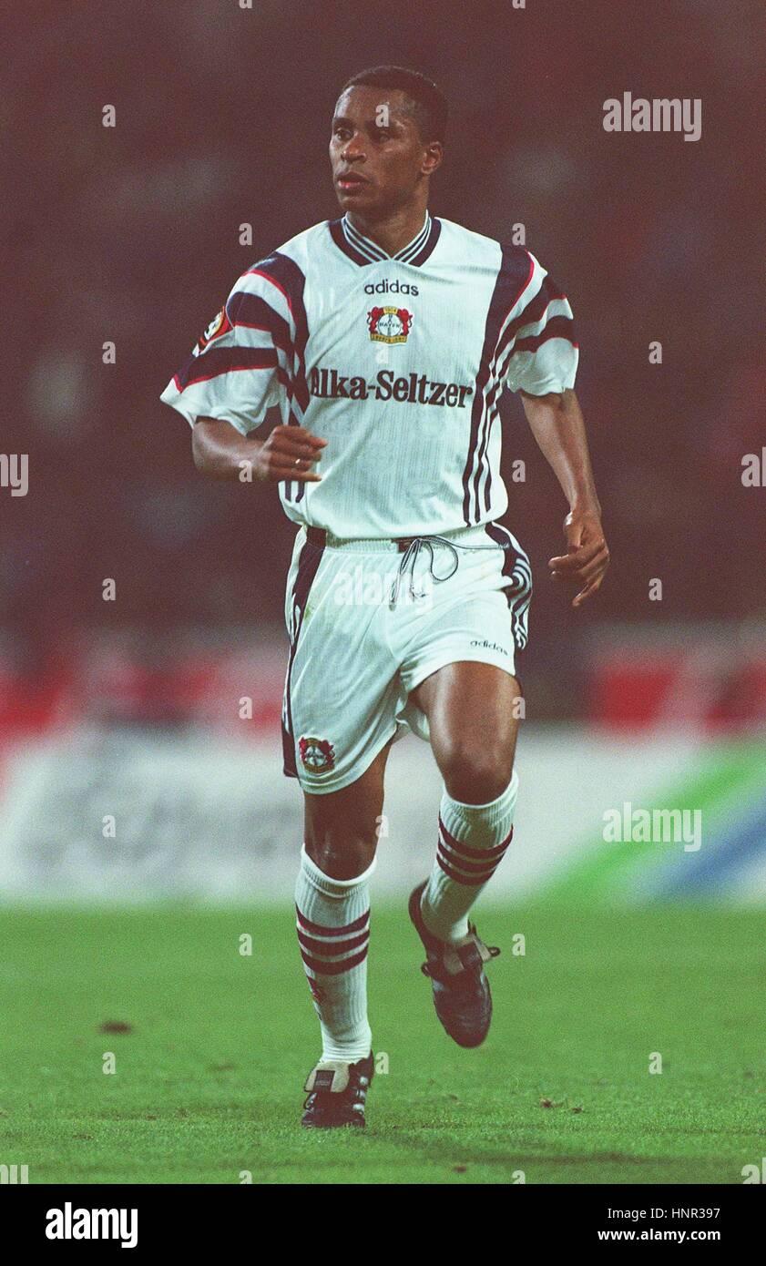 PAULO SERGIO TSV BAYER 04 LEVERKUSEN 05 November 1996 - Stock Image