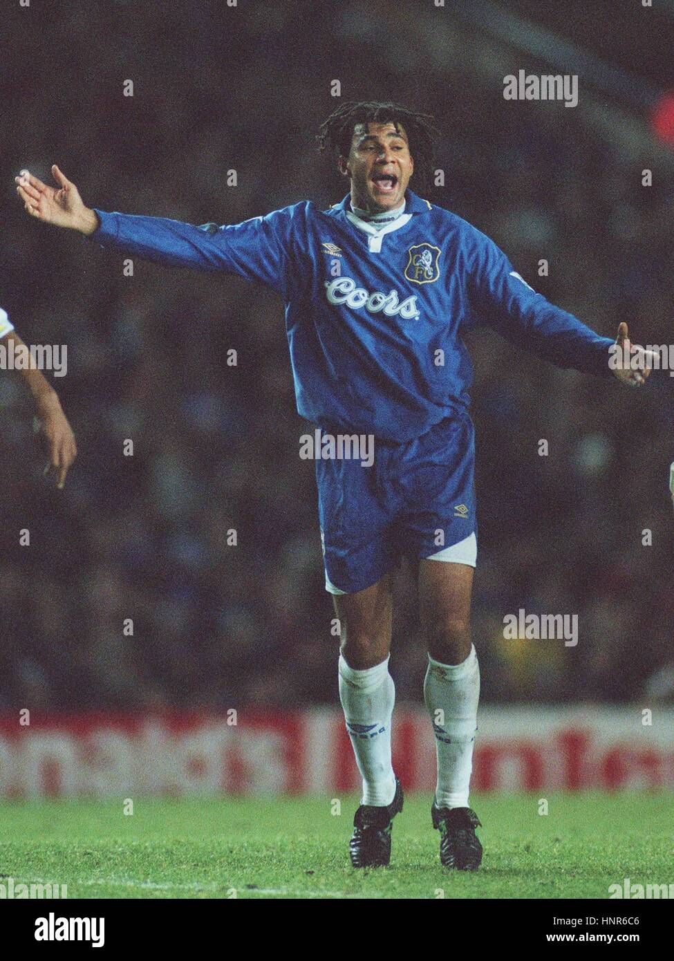 hot sale online 2dbe9 53e09 RUUD GULLIT CHELSEA FC PLAYER-MANAGER 02 December 1996 Stock ...