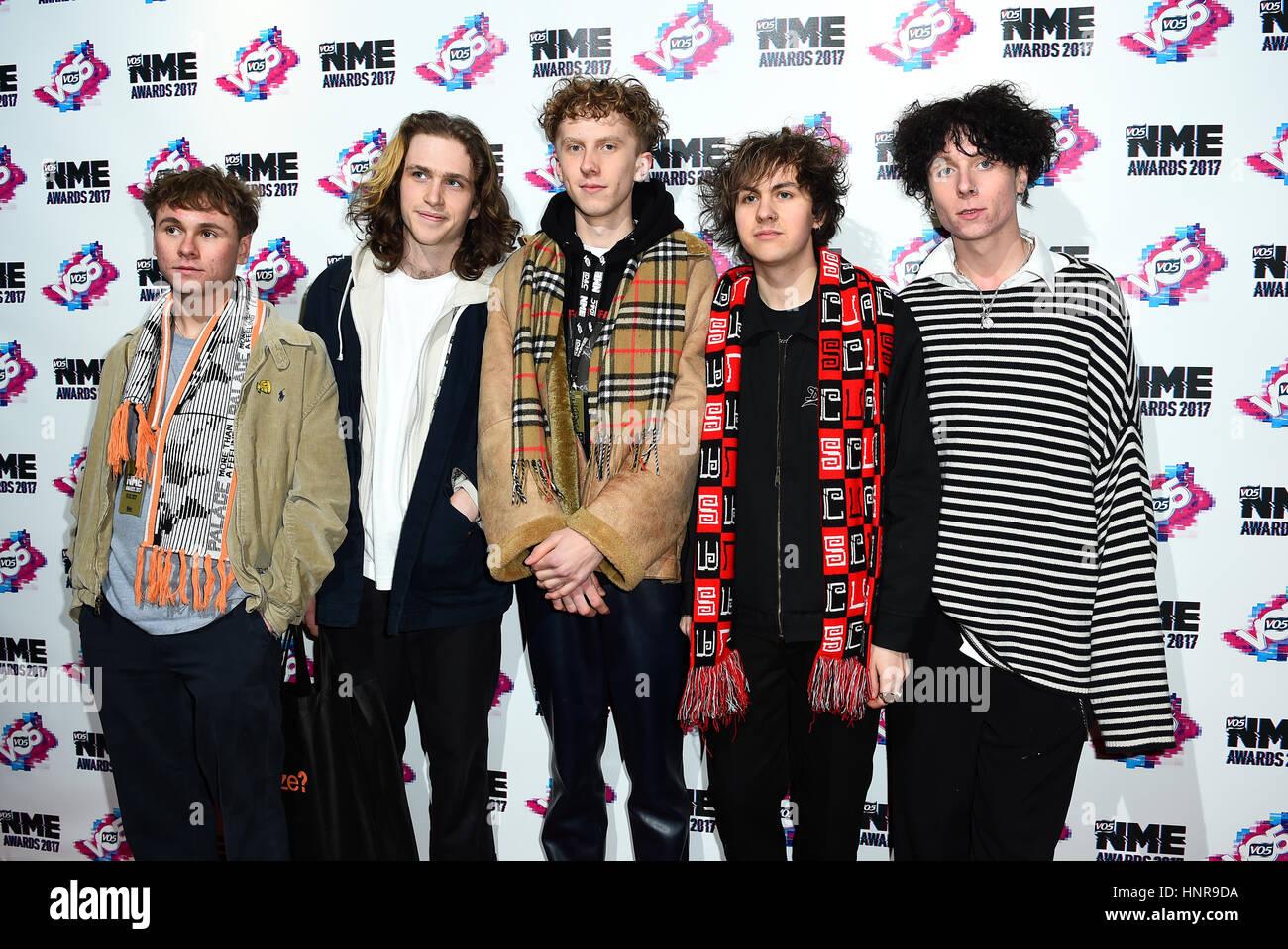 Boy band members