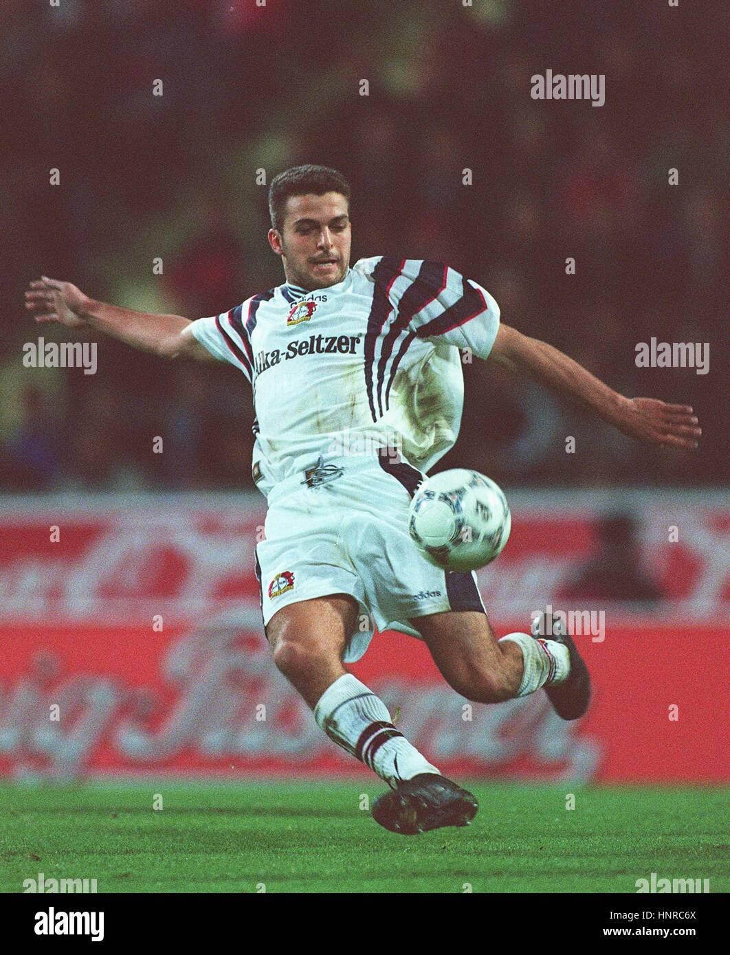 ZE ELIAS TSV BAYER 04 LEVERKUSEN 24 October 1996 - Stock Image