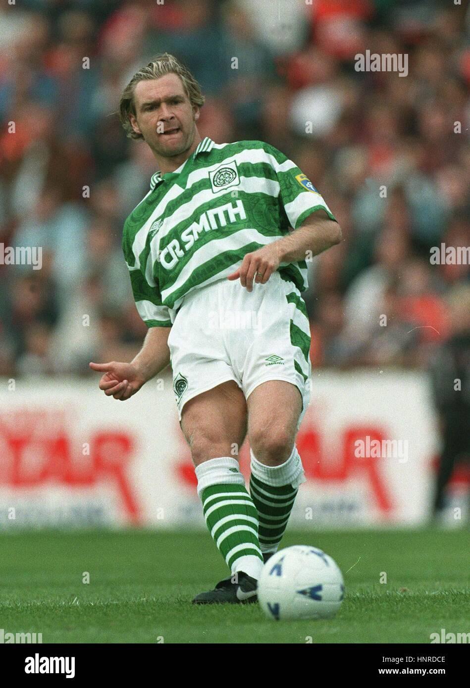 PETER GRANT GLASGOW CELTIC FC 15 September 1996 - Stock Image