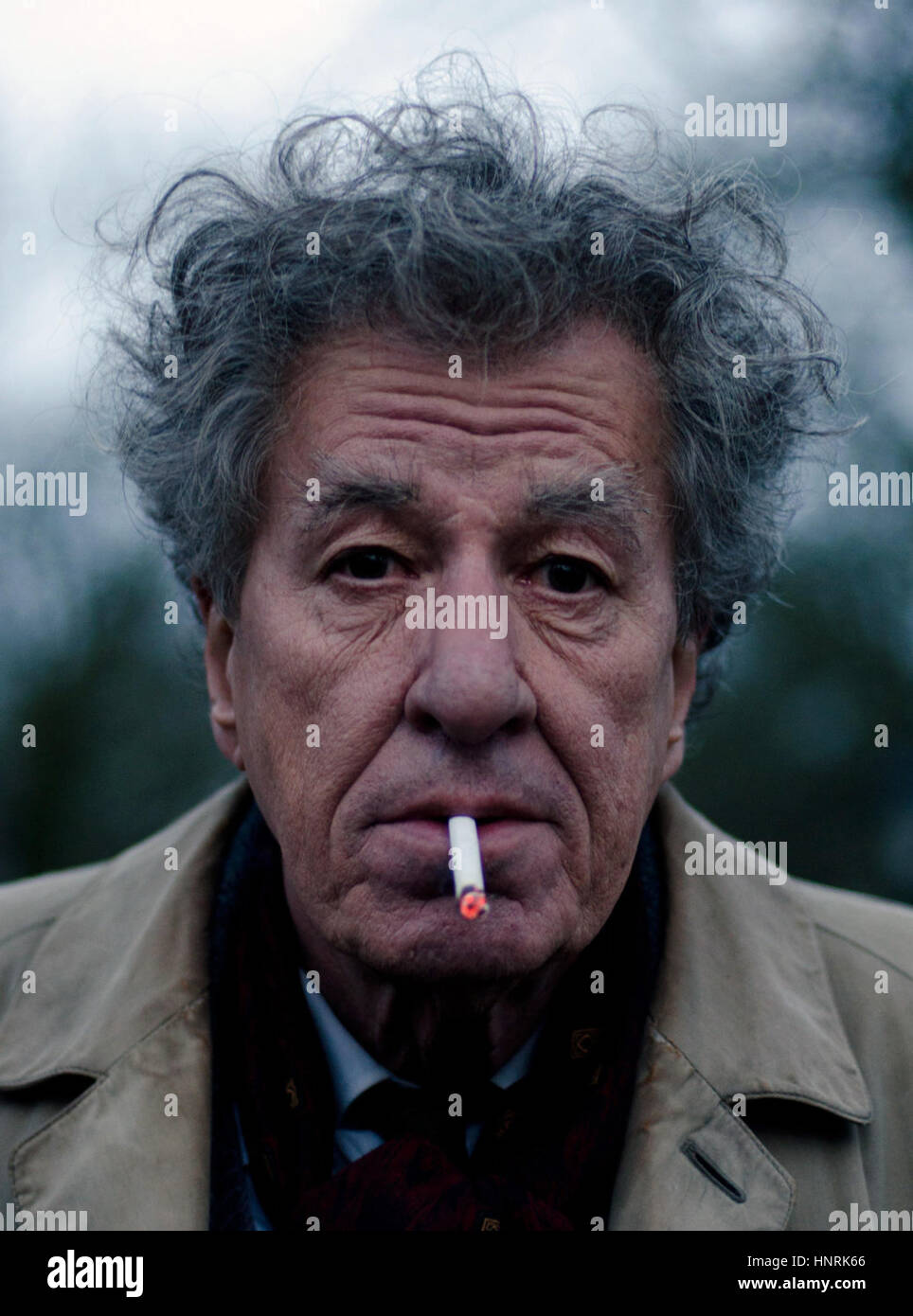 Final Portrait is a 2017 British drama film written and directed by Stanley Tucci. The film stars Geoffrey Rush, - Stock Image