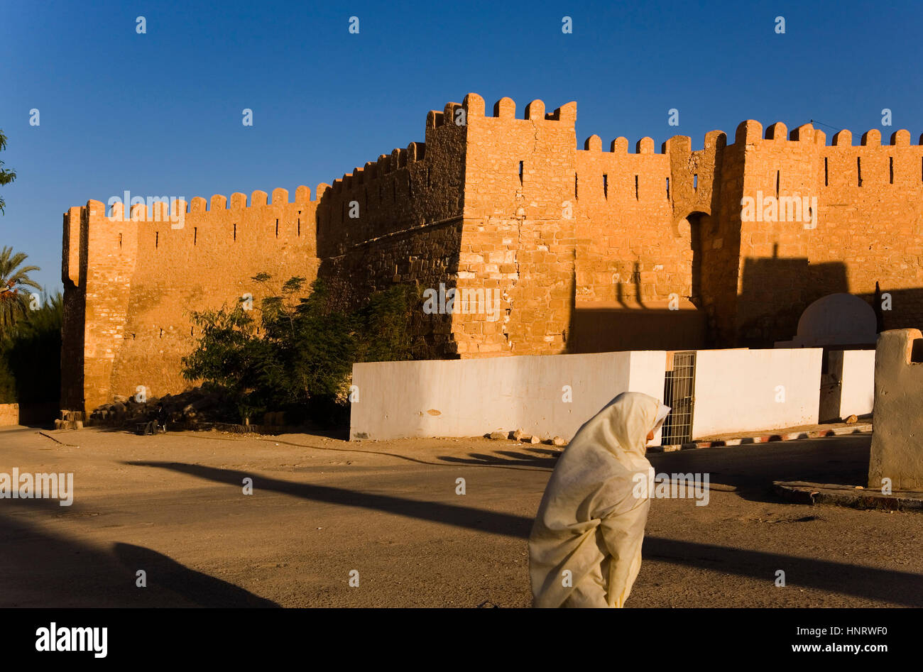 Tunisia.Gafsa. In background the Casbah - Stock Image