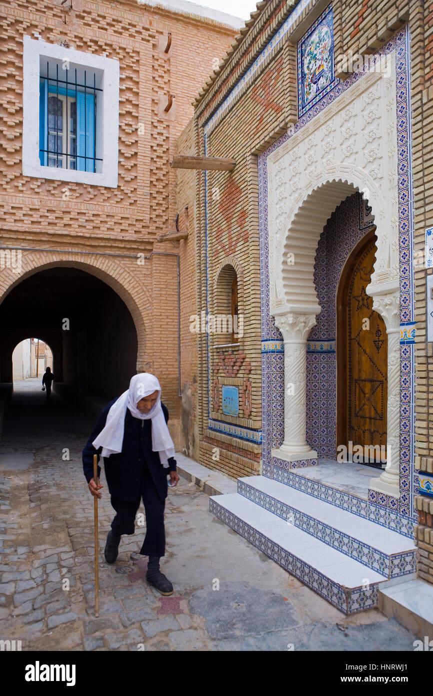 Tunisia.Nefta.Medina Stock Photo