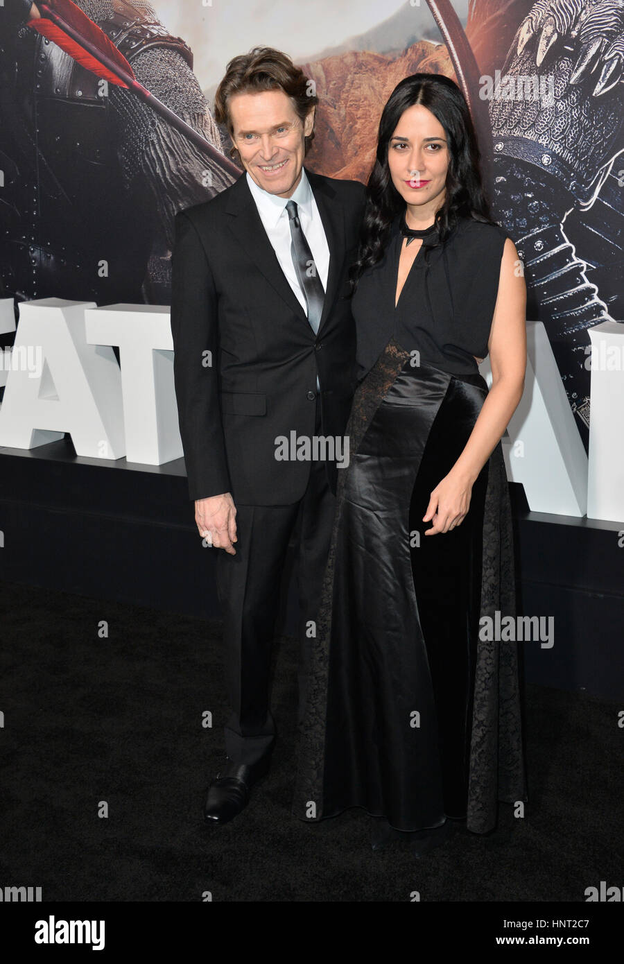 Oscars Red Carpet 2019: See Your Favorite Hollywood Couples!  Willem Dafoe And Wife