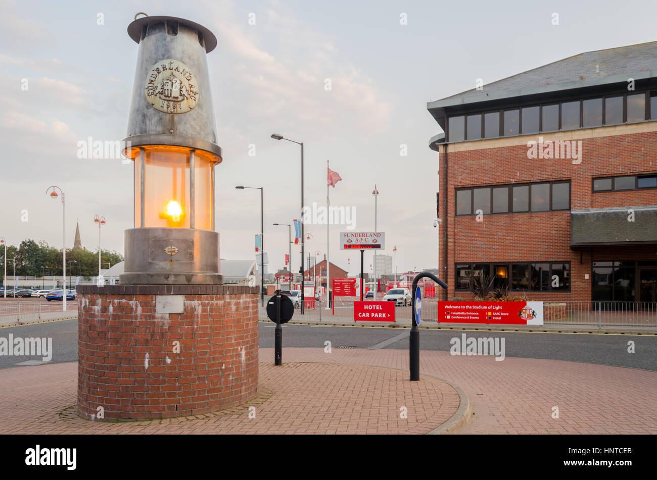 The Stadium of Light, Sunderland - Stock Image