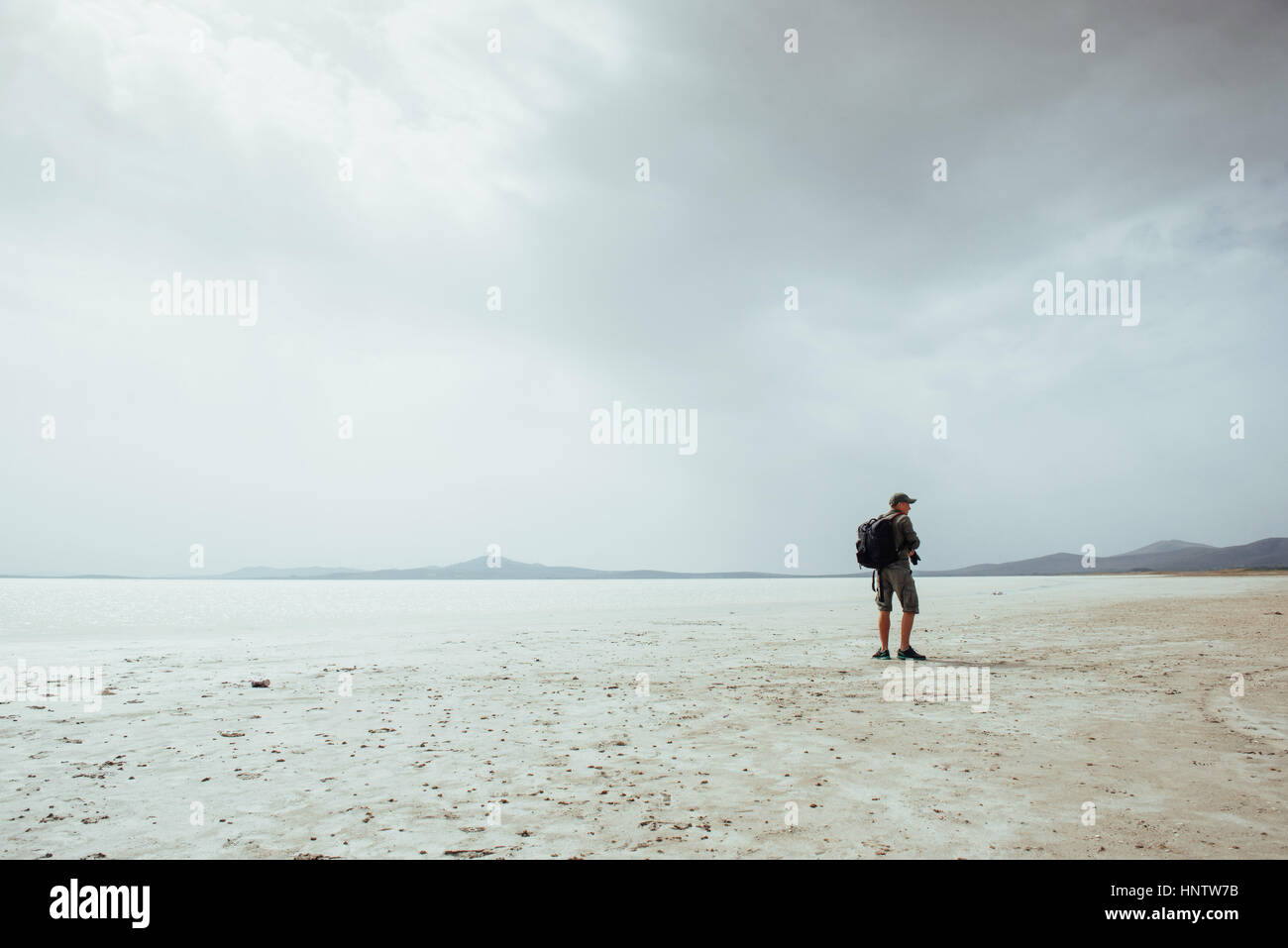 nature travel landscape photographer shoots. Turkey. - Stock Image