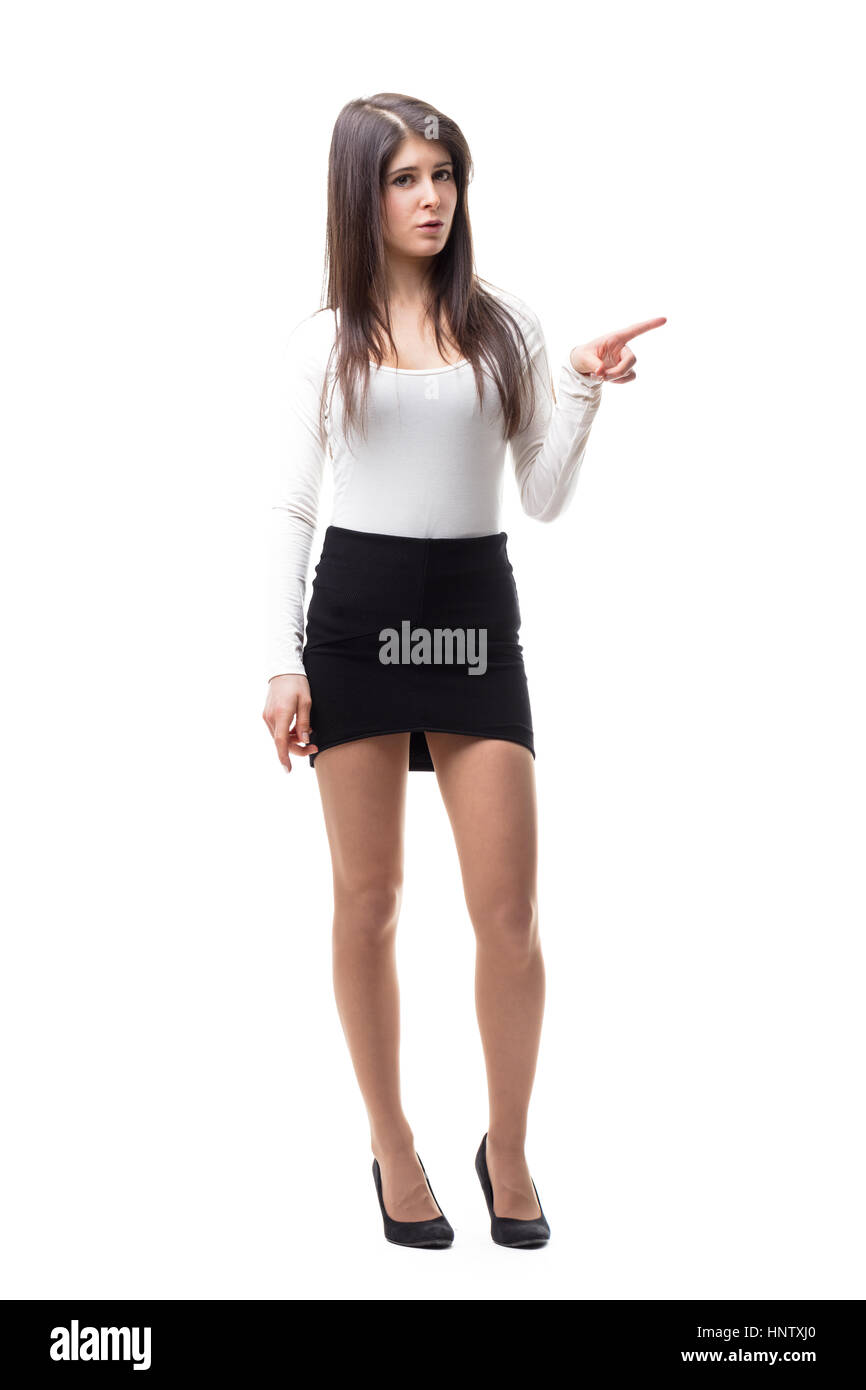 270e45c236e Short Skirt And High Heels Stock Photos & Short Skirt And High Heels ...