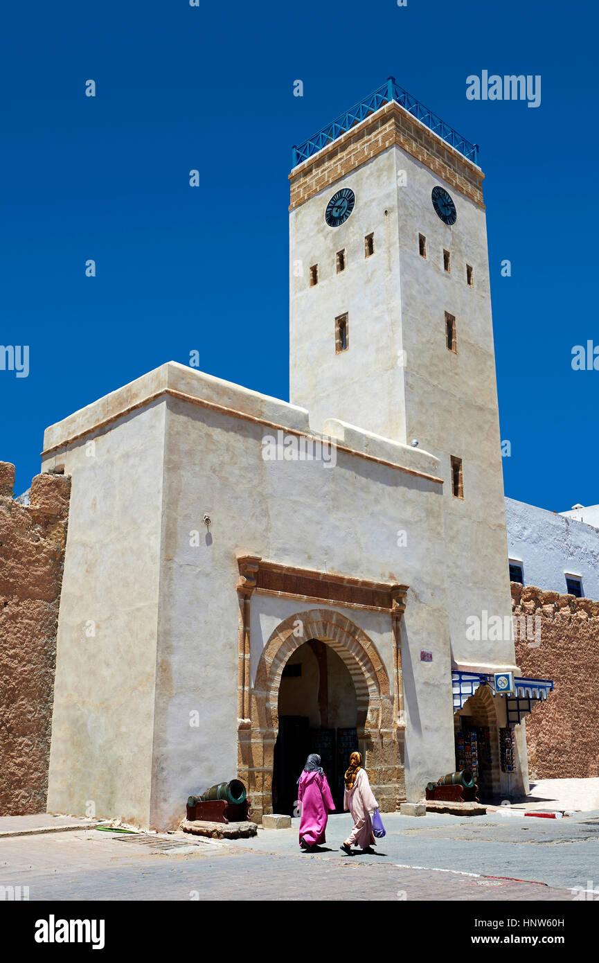 Arabesque Berber gateway of  Essaouira, Morocco - Stock Image