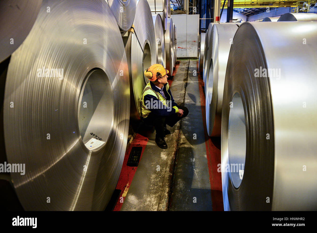 Tata Steel Worker Stock Photos & Tata Steel Worker Stock Images - Alamy