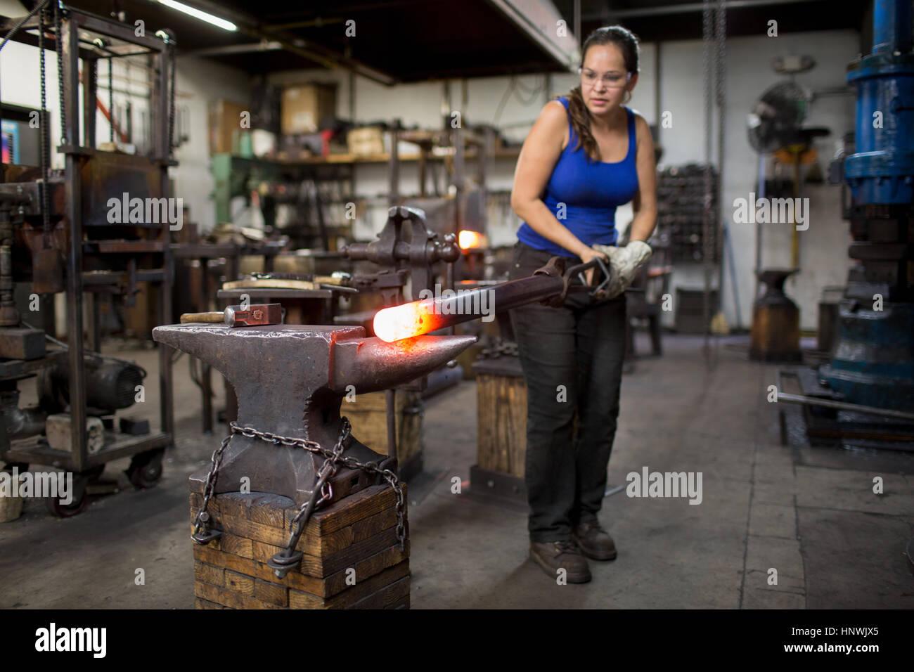 Female Blacksmith Stock Photos & Female Blacksmith Stock ... Seurasaari Island