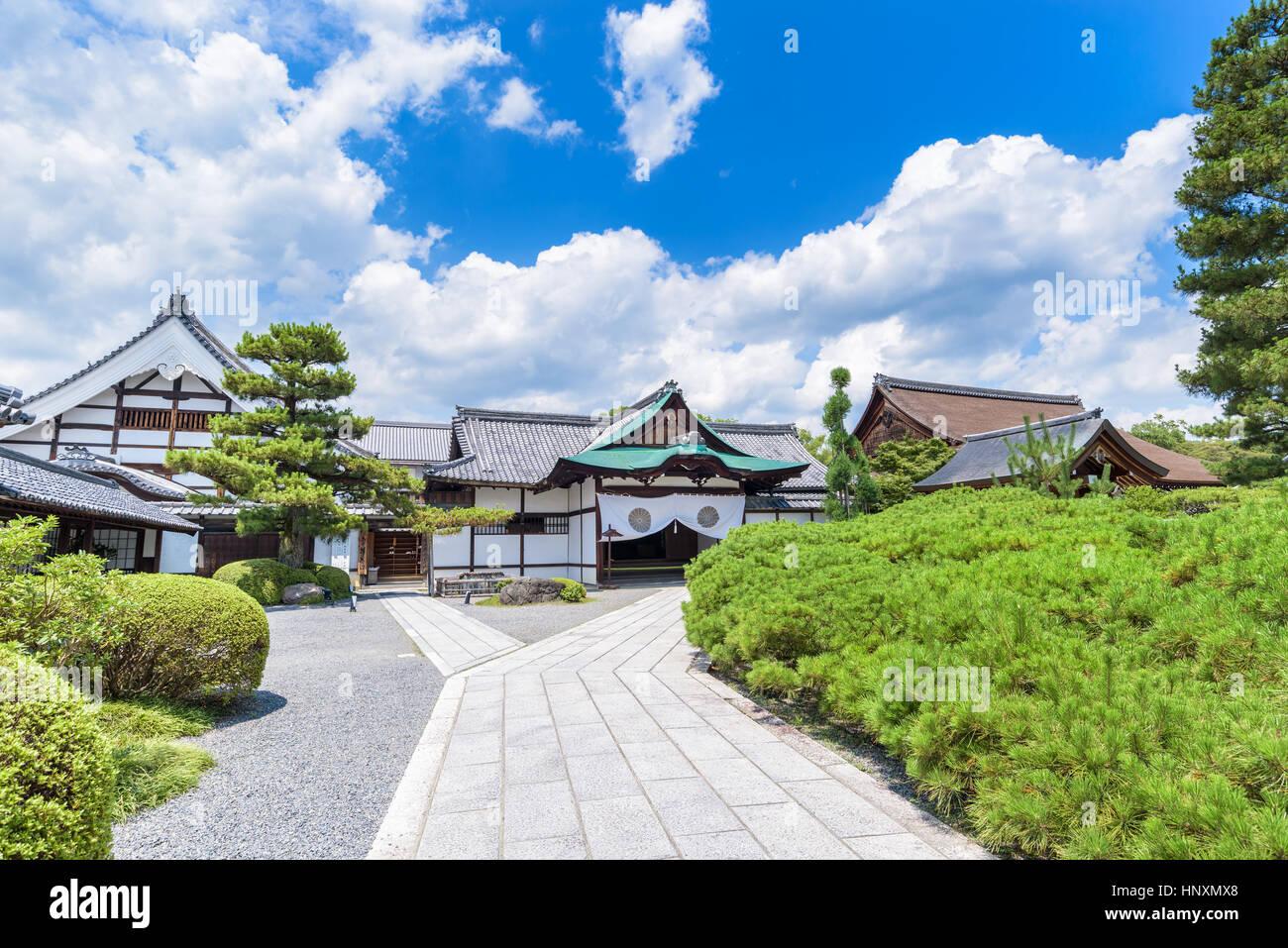Daikaku-ji temple in Sagano, Kyoto Japan Stock Photo