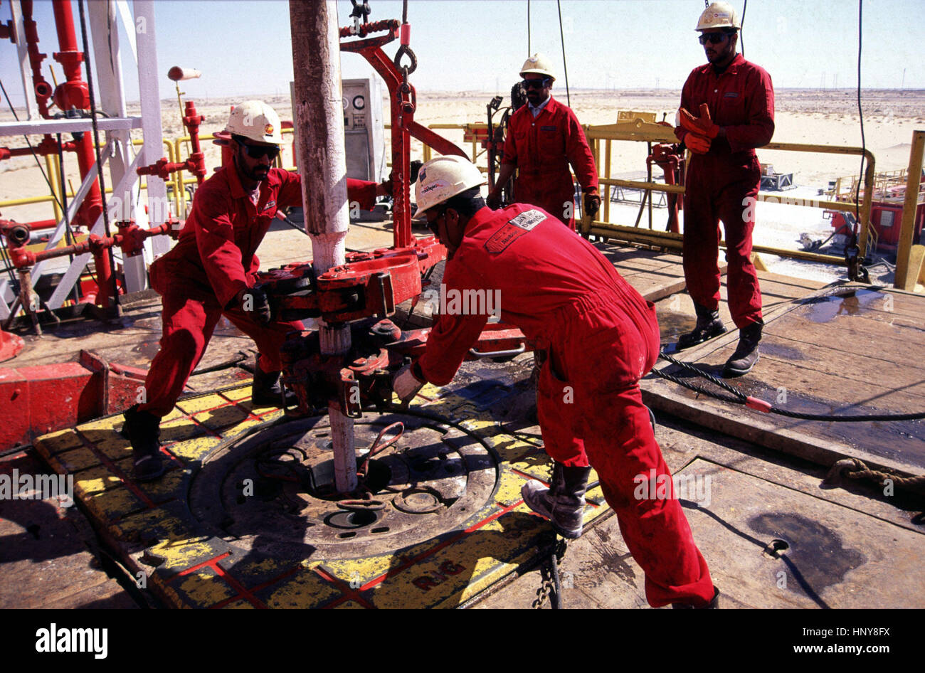 Oil Rig Middle East Stock Photos & Oil Rig Middle East Stock