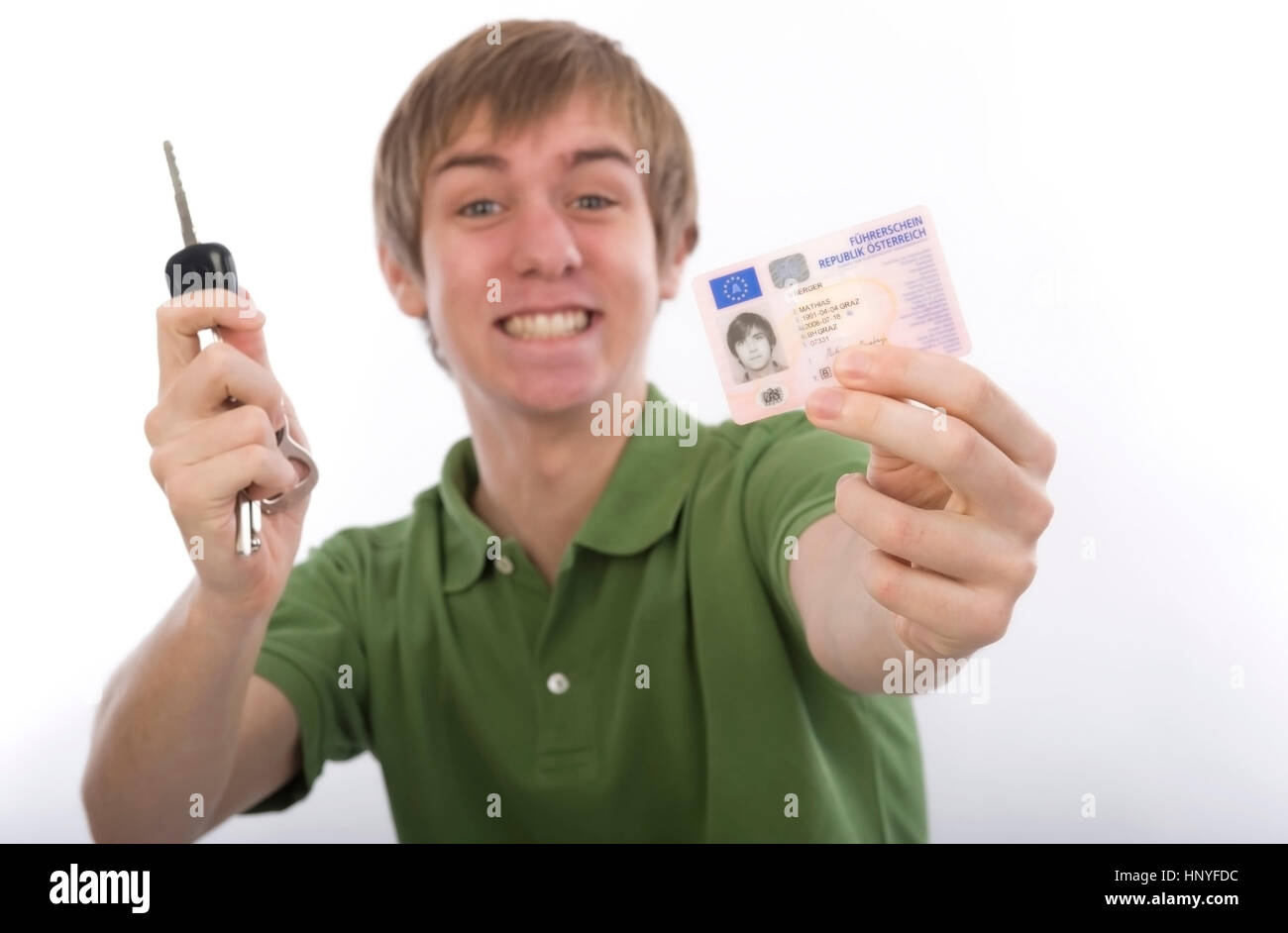 Card Driving Licence Stock Photos & Card Driving Licence