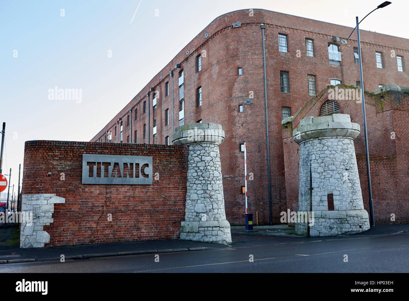 titanic hotel stanley dock liverpool uk Stock Photo