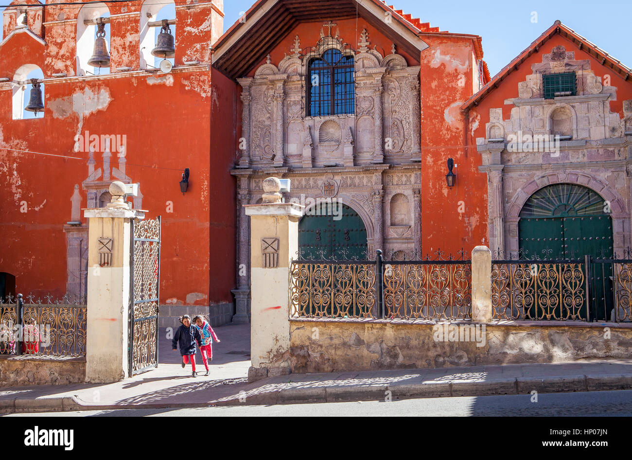 Church of La Merced, Potosi, Bolivia - Stock Image