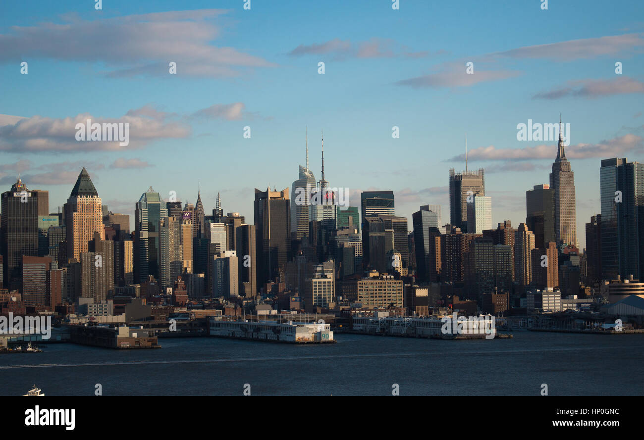 A close view of New york city - Stock Image