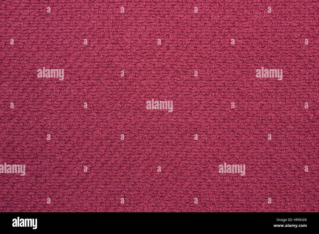 Structure of fluffy and softness towel as background texture, fabric as backdrop - Stock Image