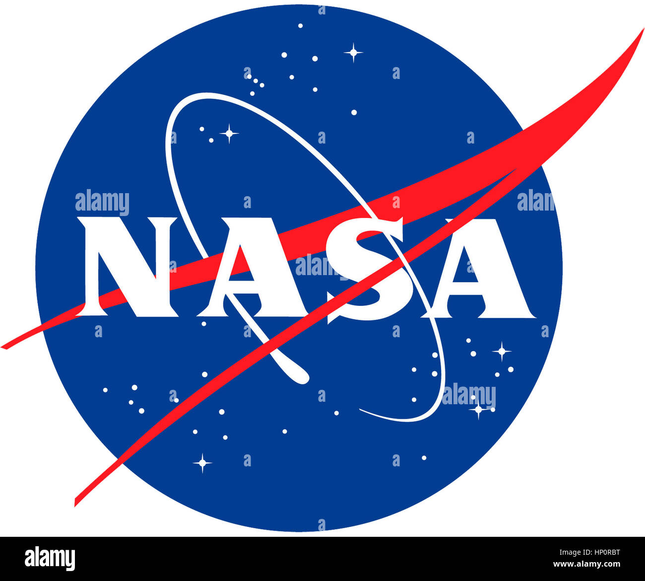 NASA Logo - Stock Image