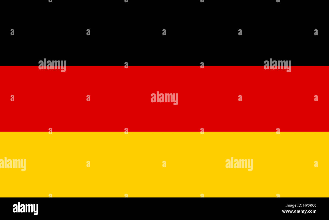 Germany flag - Stock Image