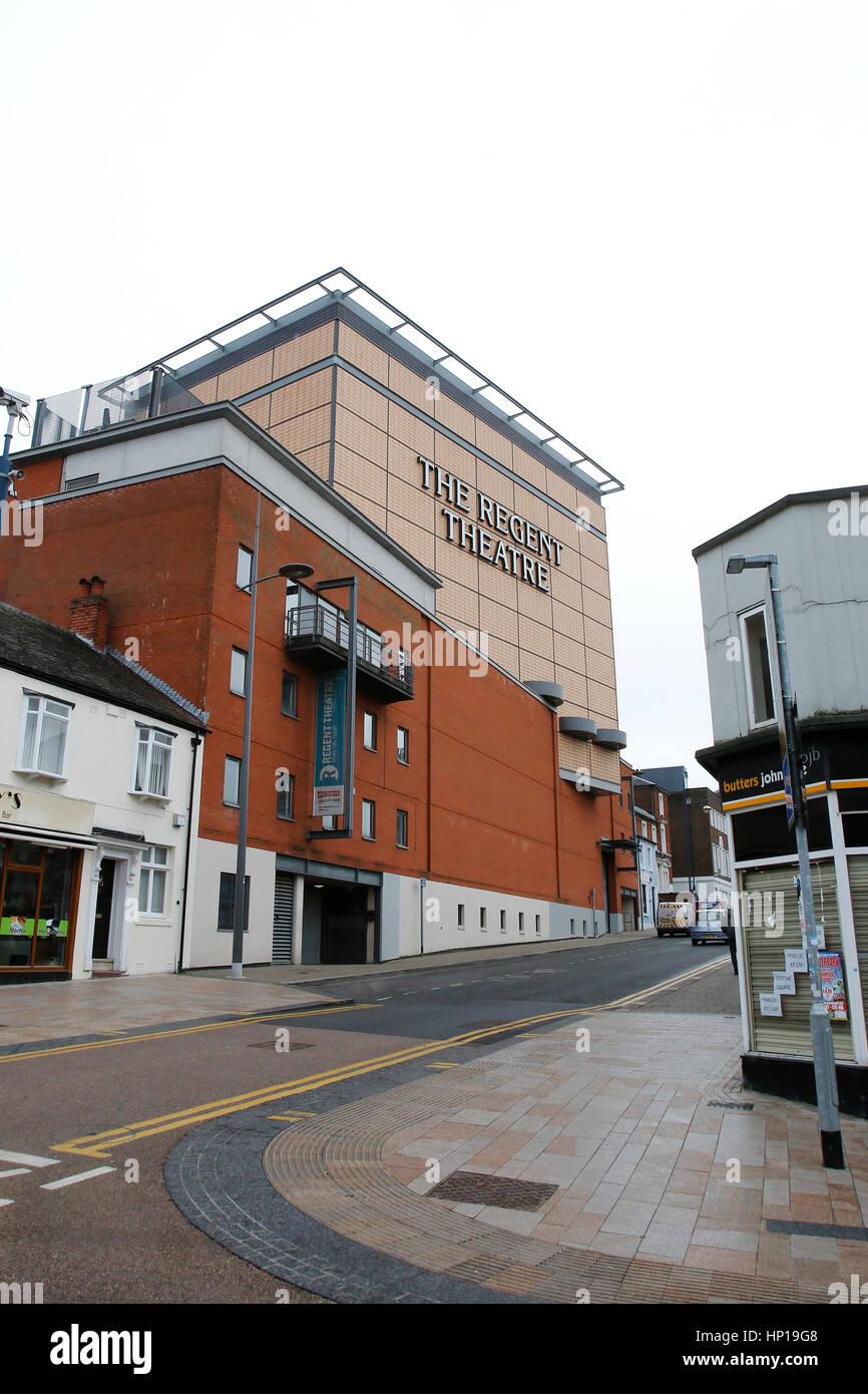 Hanley, Stoke-on-Trent City Centre, Staffordshire. 17th February 2017. - Stock Image
