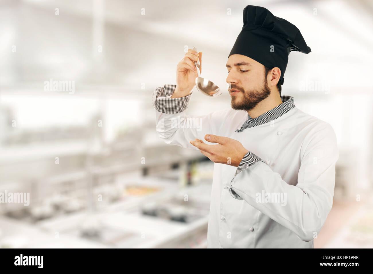 Taste Test Food Chef Stock Photos & Taste Test Food Chef Stock ...