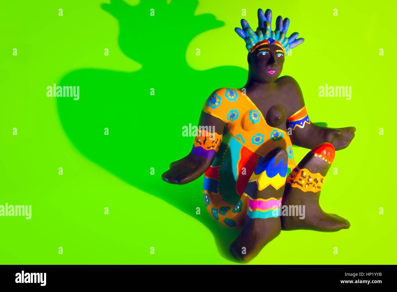 Multicolored decoration - Stock Image