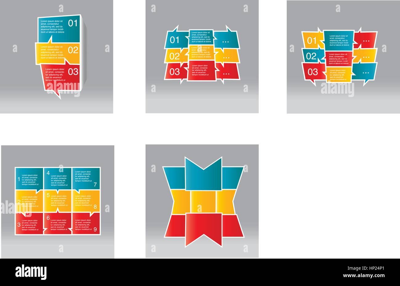 Infographic - Stock Vector