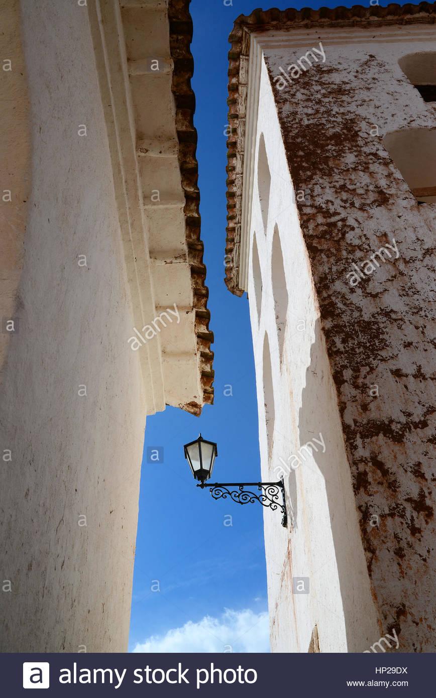 Historic building in Chinchero, Peru - Stock Image