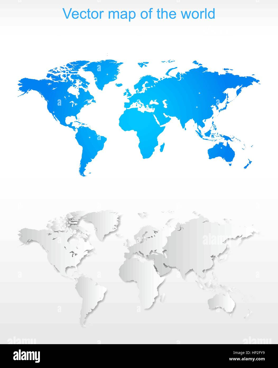 Vector World Map pattern - Stock Vector
