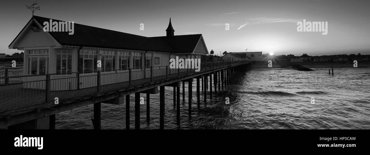 Southwold Pier, Southwold Town, Suffolk County, England, UK - Stock Image