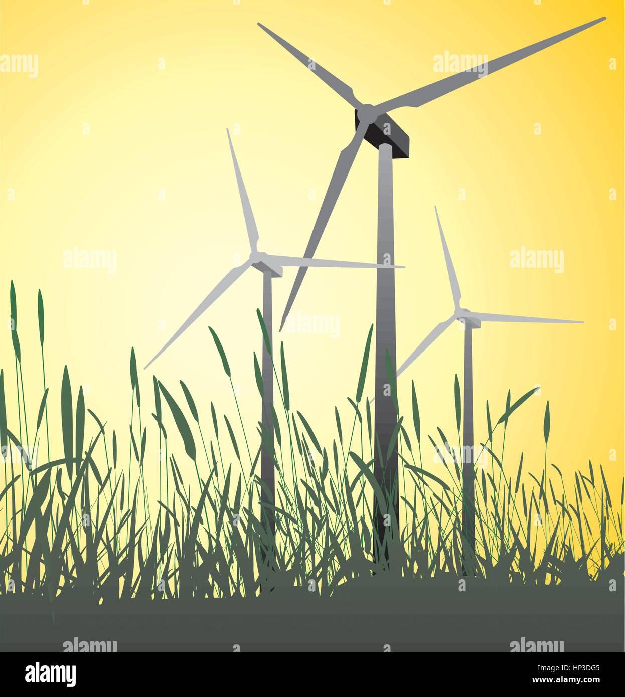 green Energy - Stock Image