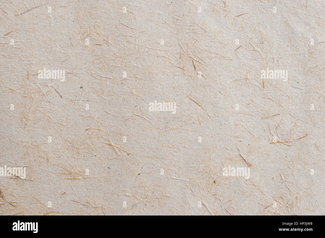 Sheet of  an old rustic paper- close up - Stock Image