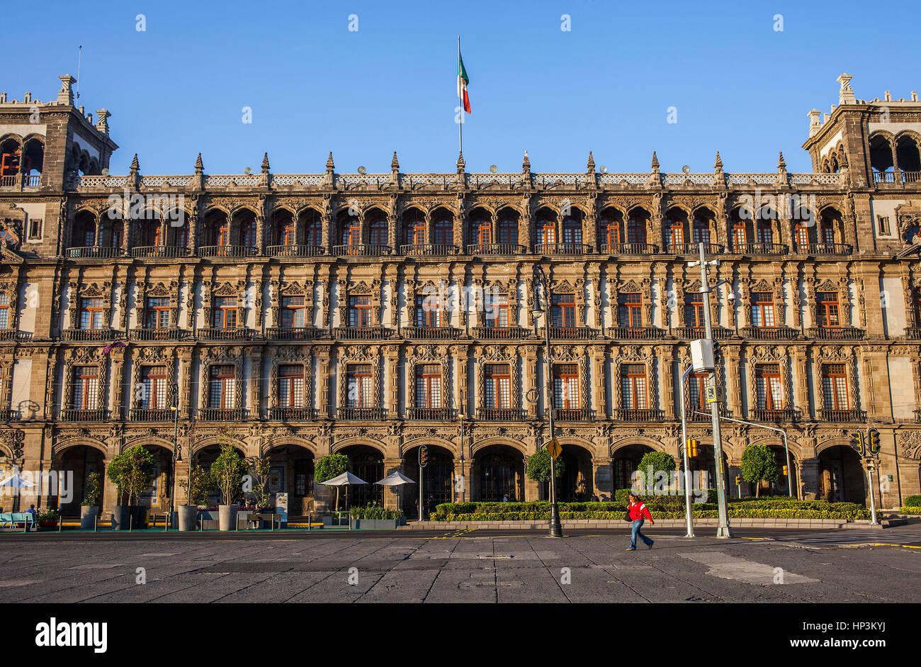 Old City Hall, Plaza de la Constitución, El Zocalo, Zocalo Square ...