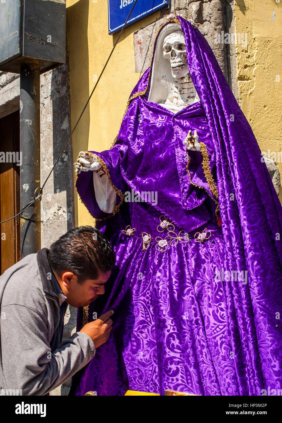 La Santa Muerte Saint Death Emiliano Zapata street at Jesus Maria street Mexico City Mexico & La Santa Muerte Saint Death Emiliano Zapata street at Jesus Maria ...