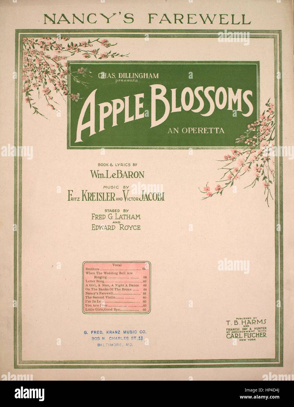 Sheet music cover image of the song 'Nancy's Farewell [Nancy and