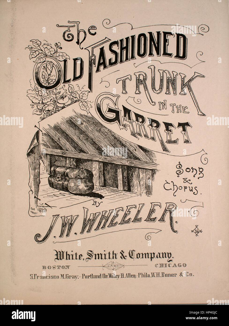 Sheet Music Cover Image Of The Song The Old Fashioned