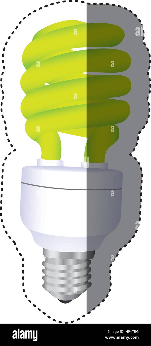 city bulb energy icon - Stock Vector