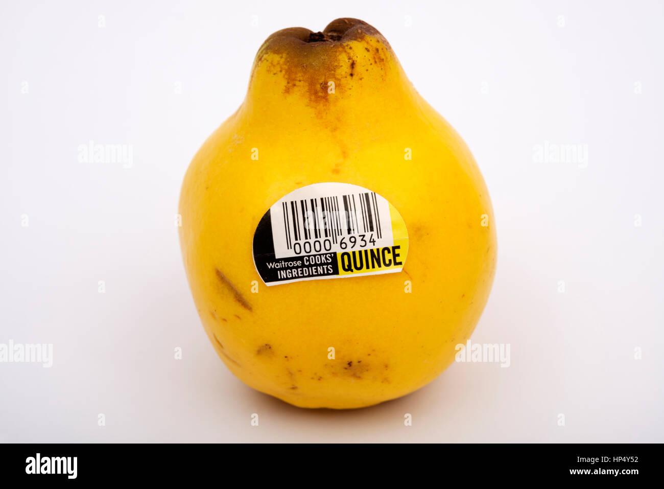 Waitrose cook's ingredients Quince - Stock Image
