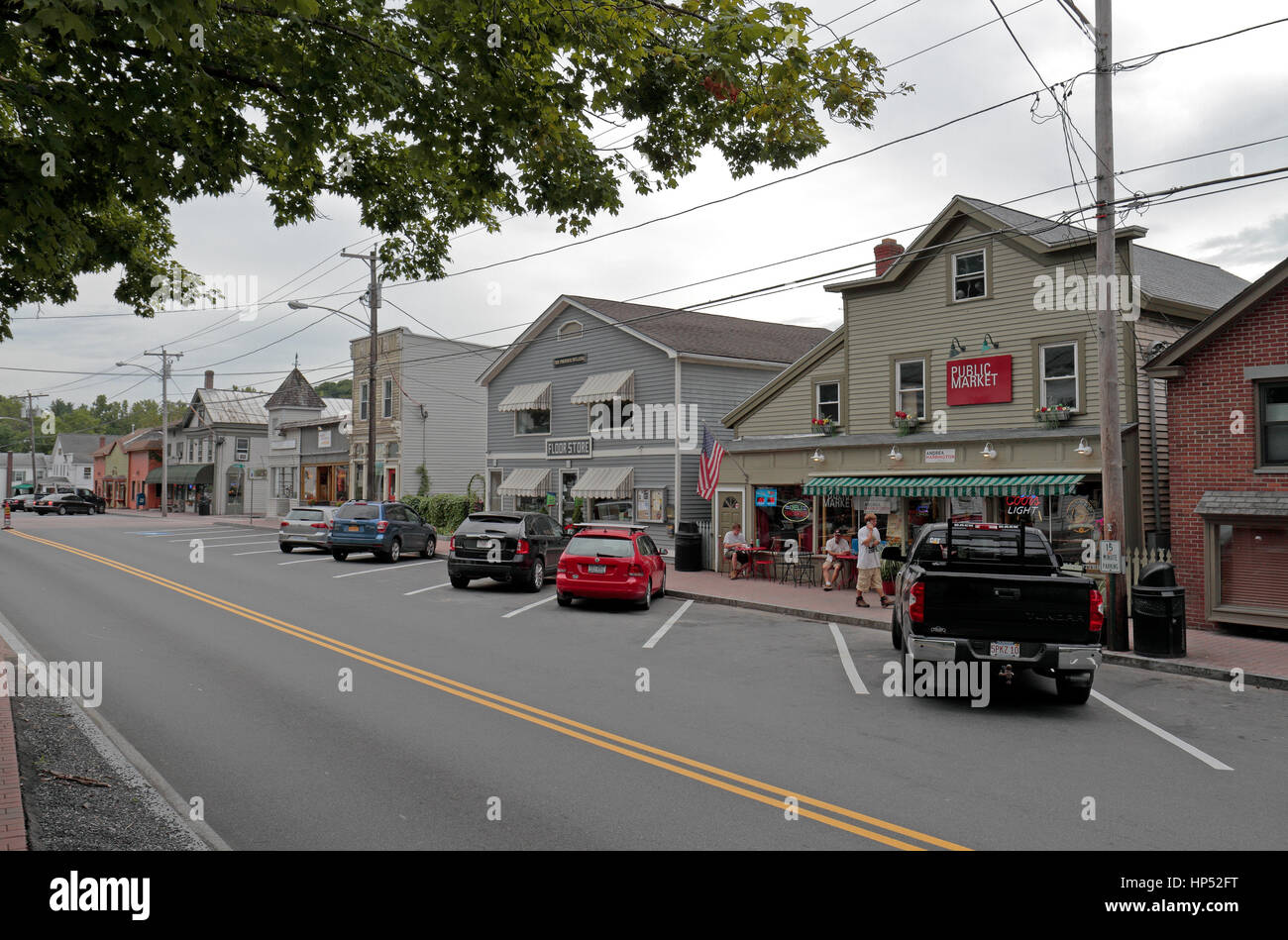 West Stockbridge Ma >> Historic Shopping Area Of West Stockbridge Massachusetts United