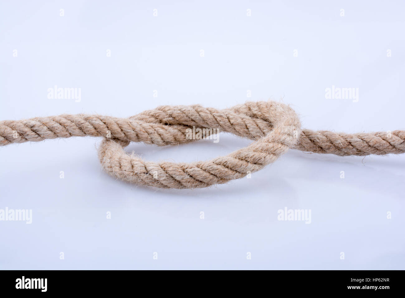 Bowline Knot Stock Photos Images Page 3 Alamy Diagram Of Rope On A White Background Image