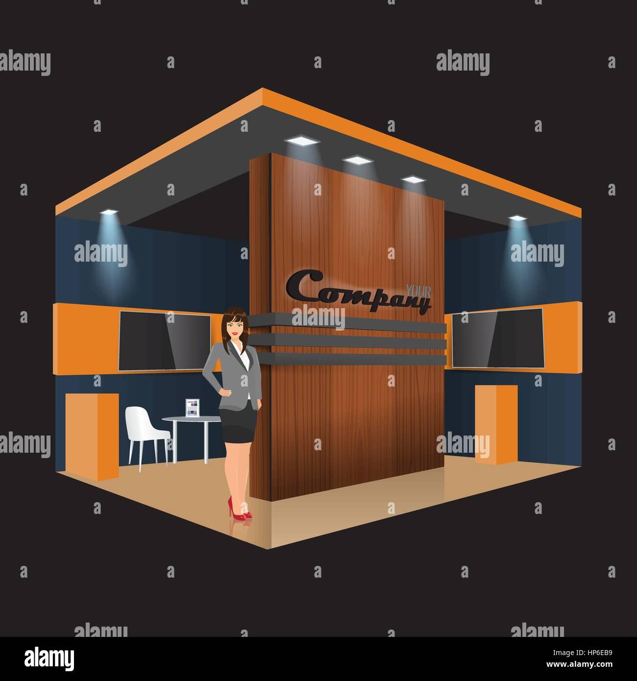 Exhibition Stand Design Furniture : Unique creative wooden exhibition stand display design info board