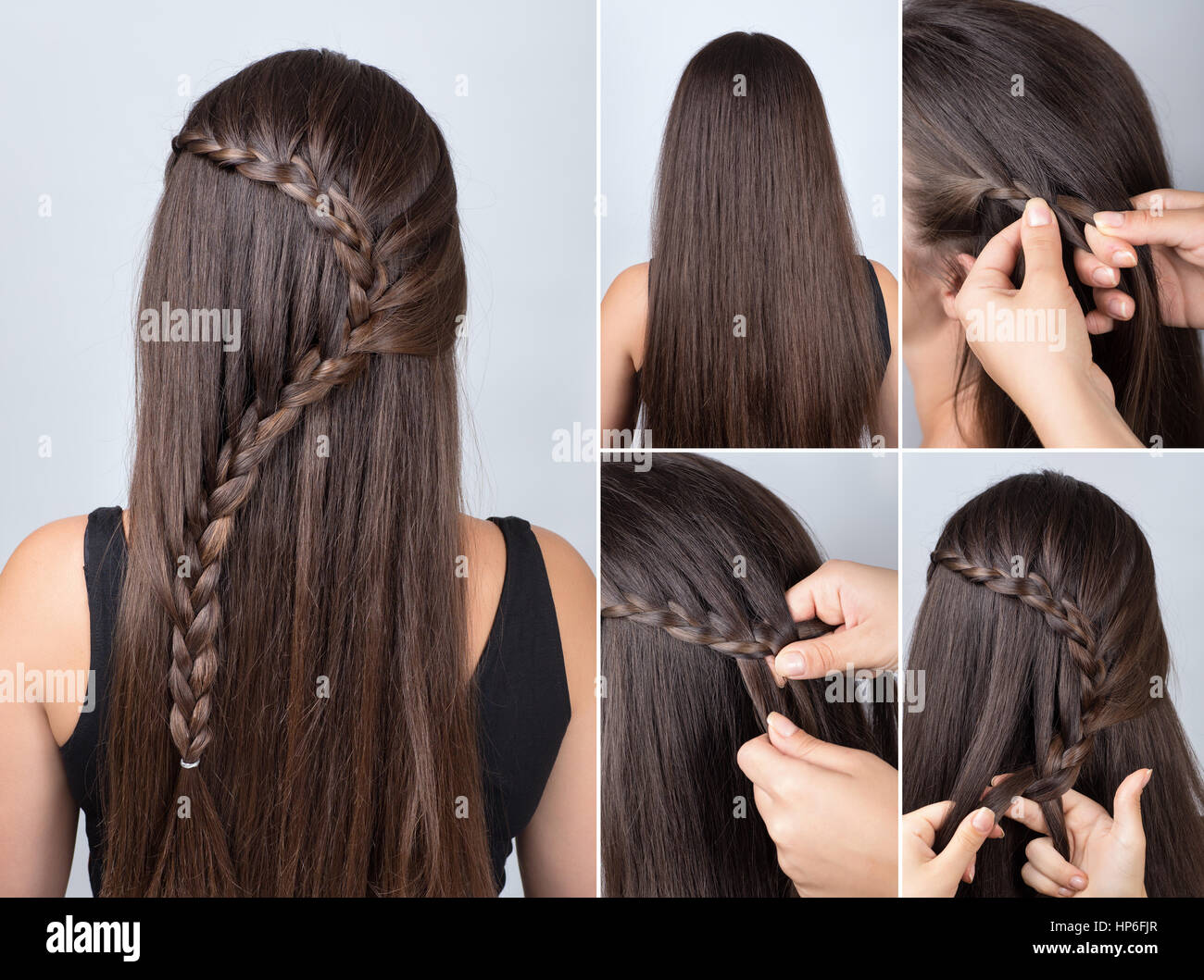 Hairdo Cascade Braid Hair Tutorial Hairstyle For Long Hair Simple