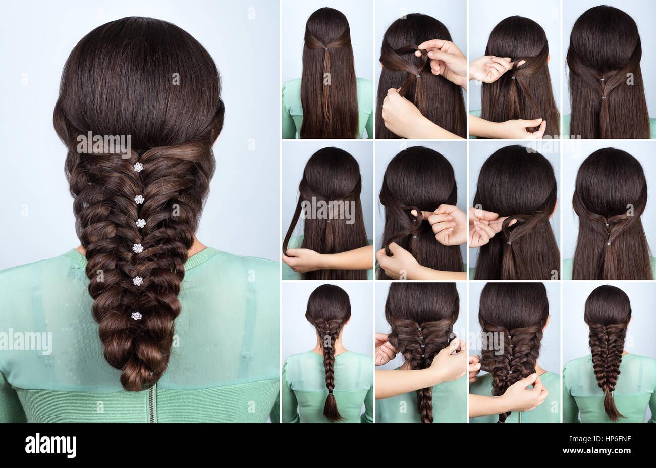 Hair Tutorial Festive Hairstyle Voluminous Braid Tutorial