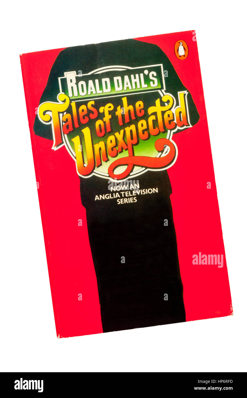 Paperback copy of Roald Dahl's Tales of the Unexpected by Roald Dahl.  First published in 1979. - Stock Image